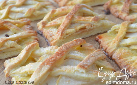 """Рецепт Песочное яблочное печенье """"За решеткой..."""""""