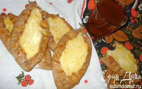Рецепт Калитки с картофельно-сырной начинкой