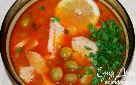 Рецепт Солянка рыбная (суп)