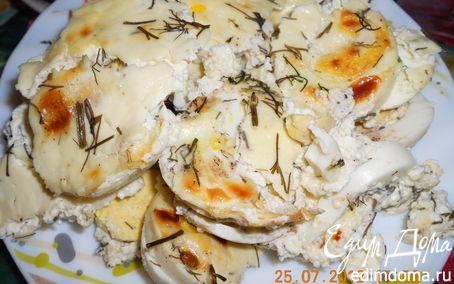 Рецепт Яйца в сметане