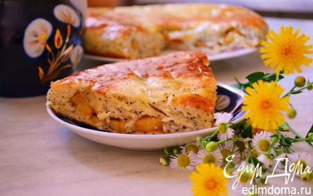 Рецепт Маковые коржики с яблоками