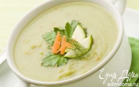 Рецепт Суп-пюре из кабачков