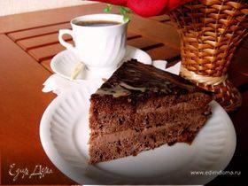 Торт «Прага» классический (Рецепт из Чехии, новые открытия)