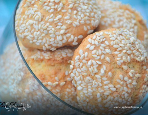 Королевское кунжутное печенье от А. Селезнева