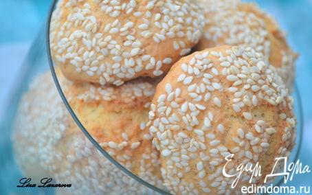 Рецепт Королевское кунжутное печенье от А. Селезнева