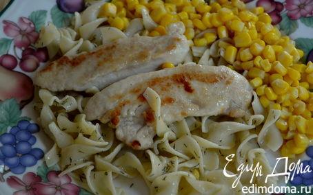 Рецепт Куриные пиката (Chicken Piccata)