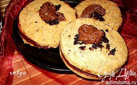 Рецепт Печенье с шоколадной крошкой к чаю