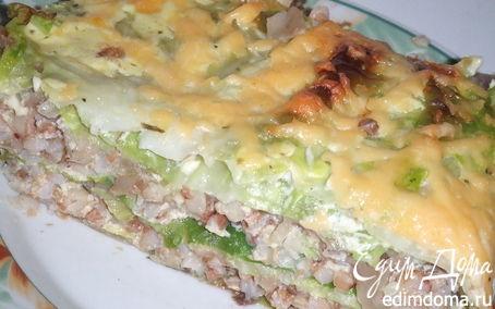 Рецепт Слоеный капустный пирог