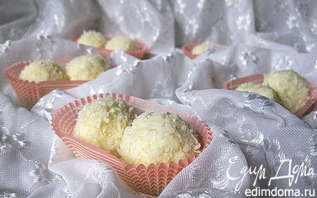 Рецепт Творожно-рисовые «Рафаэлло»