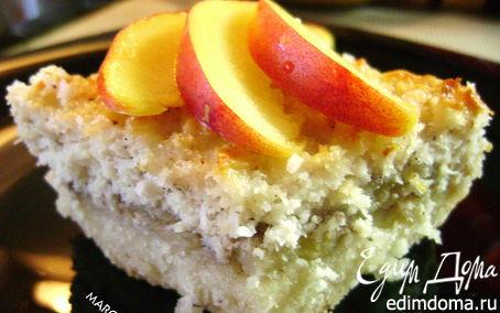 Рецепт Творожно-кокосовые пирожные