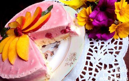 Рецепт Торт–мороженое с меренгой и фруктами