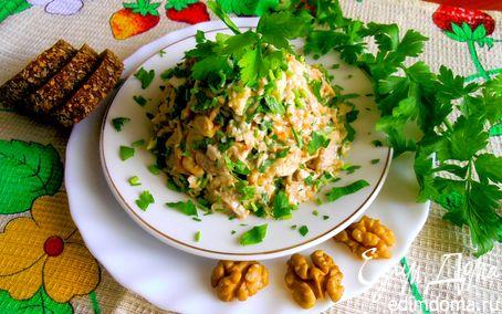 Рецепт Мужской салат с сельдереем и мясом