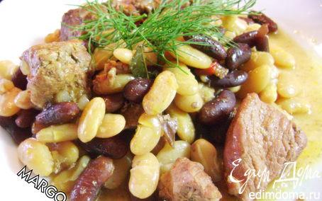 Рецепт Свинина карри с фасолью