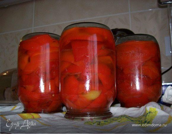 Болгарский перец в рассоле