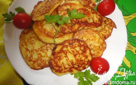 Рецепт Пикантные кабачковые оладьи