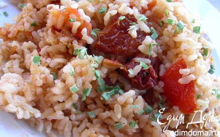 Рецепт Ризотто с помидорами и вялеными томатами