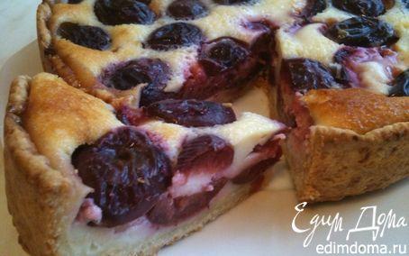 Рецепт Заливной пирог со сливами
