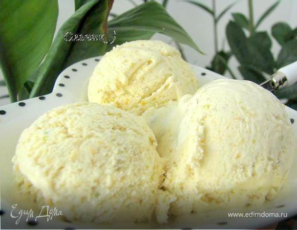 "Фисташковое мороженое ""2 в 1"""