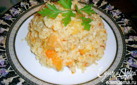Рецепт Рис, тушенный с мясом и овощами, или почти ленивый фаршированый перец в мультиварке
