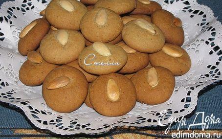 Рецепт Миндальное печенье с корицей и имбирем