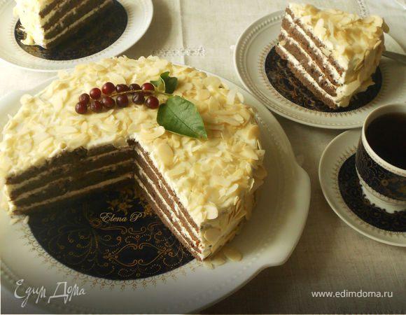 Миндально-черемуховый торт