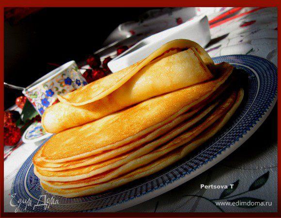 Панкейки на кефире (Pancakes)