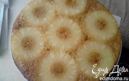 Рецепт Медовый пирог с ананасом