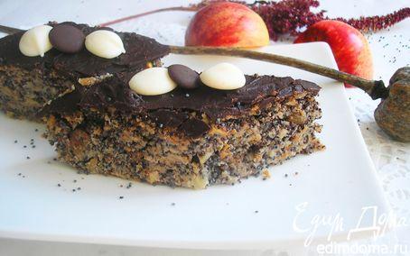 Рецепт Маково-яблочный пирог