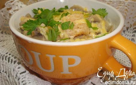 Рецепт Итальянский грибной суп