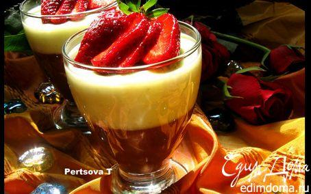 Рецепт Пудинг фисташковый и шоколадный