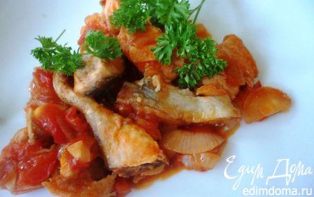 Рецепт Горбуша, запеченная под соусом