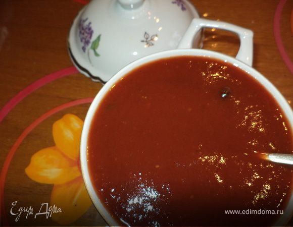 Несложный способ приготовления томатного сока (соуса)+бонус (фрикадельки с брынзой)