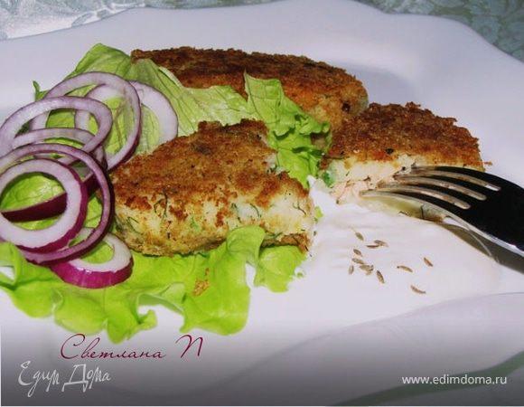 Зразы из картофеля с рыбой