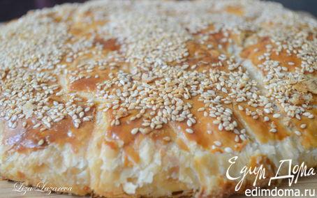 """Рецепт Креатопита - """"небрежный"""" греческий мясной пирог"""