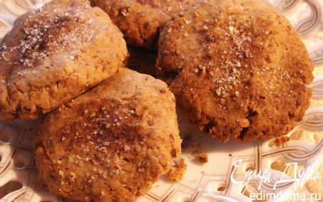 """Рецепт Ароматное печенье с грецкими орехами и корицей (готовим вместе с """"HomeQueen Corporation"""")"""