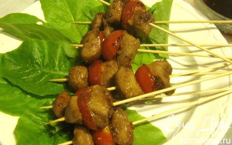 Рецепт Яки-тори. Куриные шашлычки