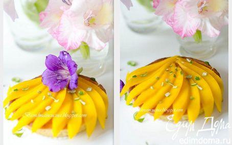 Рецепт Карибские пирожные с кокосовым кремом