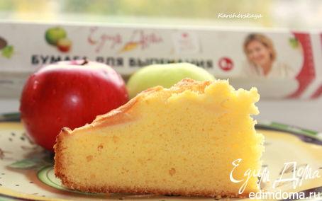 Рецепт Яблочный пирог с кукурузной мукой. HomeQueen Corporation