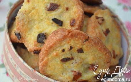 Рецепт Хрустящее печенье с курагой (Готовим с HQC)