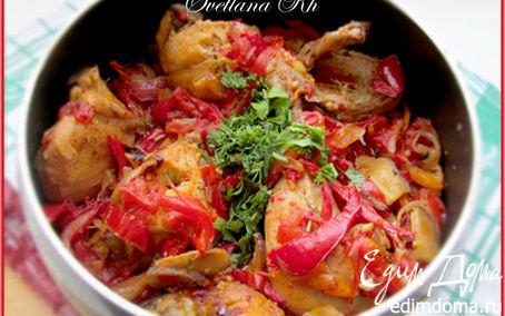 Рецепт Курица по-болгарски