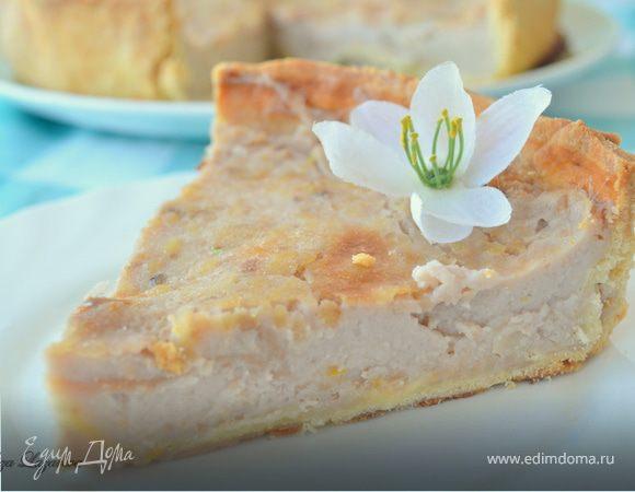 Дрезденский торт с молочно-лимонной начинкой