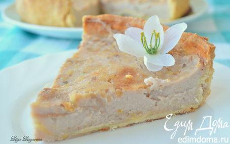 Рецепт Дрезденский торт с молочно-лимонной начинкой