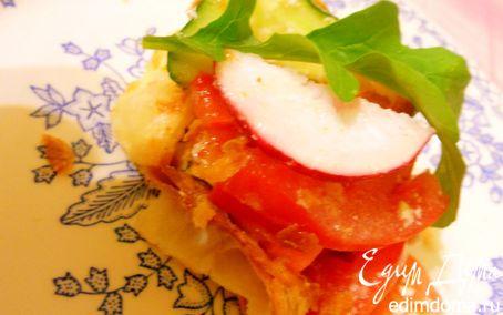 Рецепт Салат со слойкой