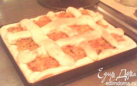 Рецепт Простой капустный пирог