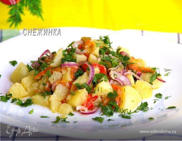 Салат «Золотая осень» из печеных овощей. «HomeQueen Corporation»