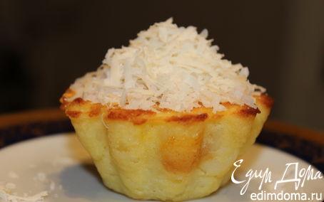 Рецепт Картофельно-сырное пирожное с курицей