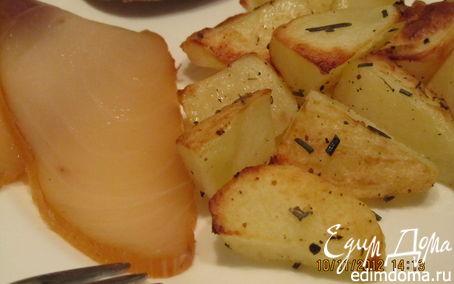 Рецепт Запеченная картошка с розмарином