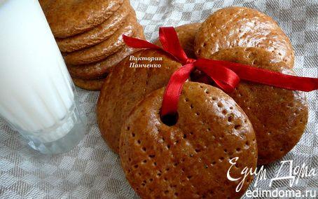 """Рецепт Имбирное печенье """"Господина Z"""" от Ришара Бертине"""