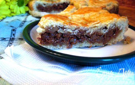 Рецепт Швейцарский ореховый торт (Engadine Nusstorte)