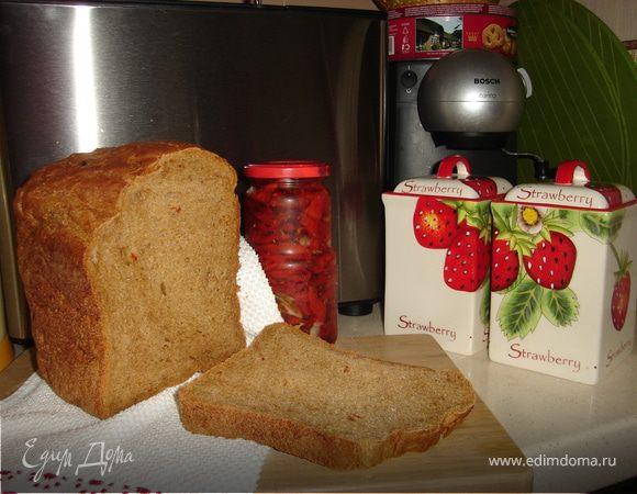 Ароматный хлеб с вялеными томатами